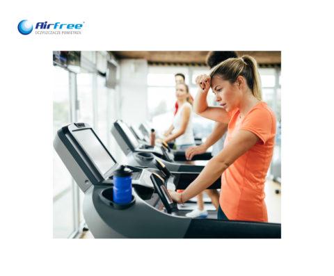 Czy zastanawiałeśsięnad powietrzem, którym oddychasz w klubie fitness?